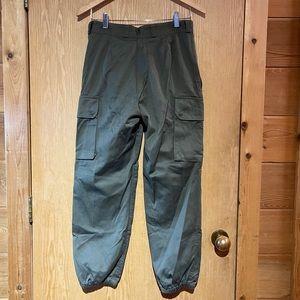 Vintage Paul Boye Army Green Jogger Pants
